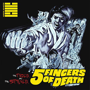 Canna Man & Dark Matter - The Tiger & The Spider: 5 Fingers Of Death